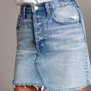 Aritzia Denim Forum 'Edie Mini Skirt' Size 26
